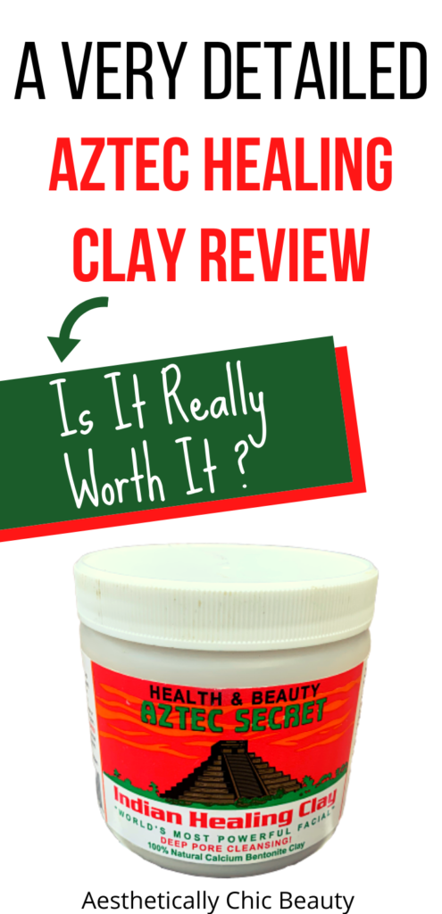 Aztec healing clay review
